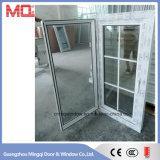 Janela de vidro China PVC e UPVC Casement com Flyscreen
