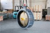 Двойная ая клапан-бабочка Dn1200 с диском бронзы C95400 Al (CBF02-TF01)