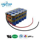 paquete de la batería de ion de litio de 11.1V 10ah para la E-Bici