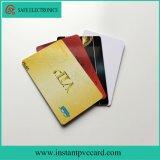 tarjeta inmediata del PVC del espesor imprimible dual de las caras de 0.45m m