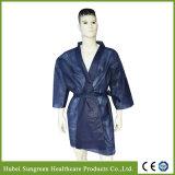Robe Non-Woven jetables d'un sauna, un sauna Robe de chambre