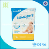 Couche-culotte remplaçable de bébé d'absorptivité élevée gentille de qualité