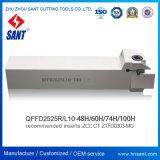 Держатель Qffd2525L10-74h резца для проточки канавок Zhuzhou Sant Toolholder поверхностный сопрягал вставки Ztfd0303-Mg