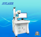 Machine tournante automatique d'inscription de laser pour le chapeau de lampe