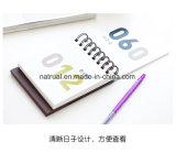 Tarjeta en blanco de encargo de las gracias de las tarjetas de nota de la fabricación profesional
