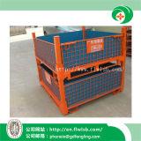 Forkfit著セリウムが付いている倉庫のためのFoldable鋼鉄容器