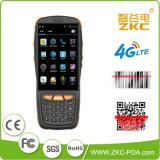 Terminal sin hilos del programa de lectura de código de Qr de la barra del precio del teléfono móvil del androide 5.1 de la base 4G 3G WiFi del patio de Zkc PDA3503 Qualcomm con NFC RFID