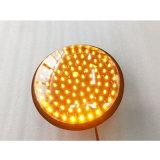 200のmmの交通信号薄黄色のランプの灯心