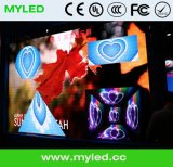 Крытая фикчированная установка P6 рекламируя стену видеоего СИД