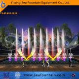 Fontaine changeable de construction de musique décorative urbaine d'éclairage LED
