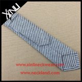 Corbatas flacas tejidas algodón rayado fino del Mens