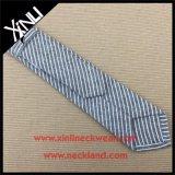 Tissus de coton à rayures fines Mens Skinny cravates