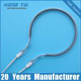 Aquecimento rápido infravermelho Quartz Heater Lamp Bulb Tube