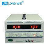 Fonte de alimentação ajustável do banco da fonte de alimentação de DC Lw-6030kd 0-60V 30A 1800W