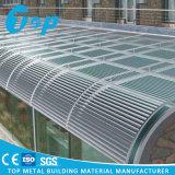 Feritoia di alluminio di Sun di Openning del sistema impermeabile del tetto, tetto esterno della feritoia