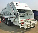 Caminhão de lixo FAW, caminhão compactador de lixo, caminhão compactador de lixo