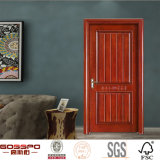 Porta interior de madeira de mogno do projeto novo com cinzeladura (GSP2-043)