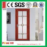 Porte intérieure de tissu pour rideaux d'ouverture vers l'intérieur