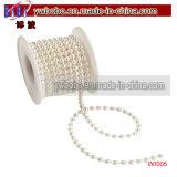 装飾のホーム装飾(W1005)と結婚する真珠の白いスプール