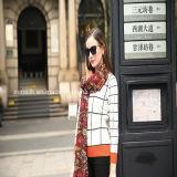 Echarpe longue en laine pour écharpe en cachemire de Dubaï