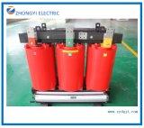 20kv 2500kVA trois phase de type sec de petit transformateur électrique