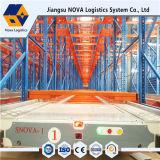 Hochgeschwindigkeitslaufwerk in der Doppelventilkegel-Zahnstange von der Nova-Logistik