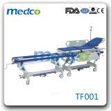 Geschäft, das manuelle Krankenhaus-Karren-Übergangsbahre-Laufkatze mit Ce& ISO anschließt