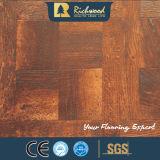 настил Laminbate грецкого ореха текстуры Woodgrain 12.3mm E0 HDF AC4 водоустойчивый