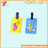 Изготовленный на заказ бирка багажа логоса способа 3D (YB-HR-68)
