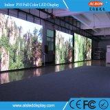 P10 en el interior de la pantalla a color fijo TV LED