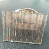 Glace d'art/glace givrée claire/glace décorative avec le découpage électrique