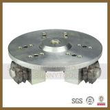 China Factory Diamond Bush Hammer Roller Plates para Litchi Surface