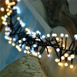 Ce&RoHSは3m400LED暖かく白くおよび白い爆竹LEDストリングライトを承認した