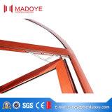 De nieuwe Uitstekende kwaliteit Aangepaste Openslaand ramen van het Aluminium van de Kleur