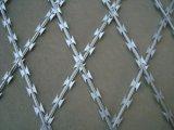 Maglia del filo del rasoio con galvanizzato