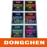 Custom Rainbow Color 3D Hologram Laser Security Sticker
