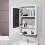 衛生製品のミラーのキャビネットが付いている壁に取り付けられた浴室用キャビネットVainty