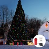 LED Christmas String Light Água salgada para festa Gift Garden
