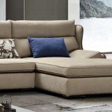Sofá de la tela del diseño moderno de los muebles de la sala de estar (G7606B)