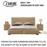 침실 가구 G7005를 위한 가죽 덮개를 가진 현대 디자인 침대
