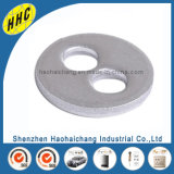 Custom Precision Electrical Metal Flat Washer with Two Hole