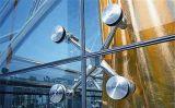 Безрамные цветные стекла наружной стены для высотных