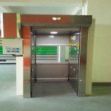Дверь PVC штарки завальцовки промышленного быстрого действия пластичная (HF-1118)