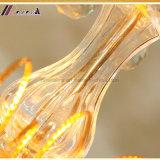 金の水晶ランプ贅沢で簡単で創造的な現代LEDの照明