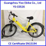 700c motorisierte Retro Weinlese-Dame Sport Electric E Bicycle