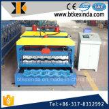 Kxd 1080 het Gegalvaniseerde Broodje die van de Tegel van het Dakwerk van het Staal Blad Verglaasde Machine vormen