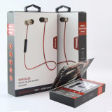 Sport senza fili stereo magnetico dei trasduttori auricolari di Earbuds Bluetooth del metallo che esegue le cuffie avricolari basse del trasduttore auricolare di musica del DJ con il Mic
