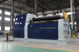 La Chine a fait en acier inoxydable CNC hydraulique W12 Plaque de Machine à rouleaux de roulement