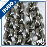 DIN EN 818-2 G80 elevación de la cadena de aleación de acero con dos gancho de elevación industrial de la cadena del ancla