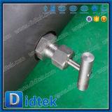 Bloc de double de Didtek et robinet à tournant sphérique de purge de Dbb